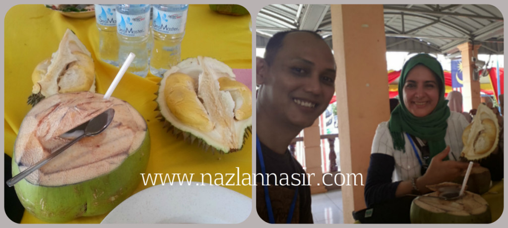 Kelapa Muda dan Durian