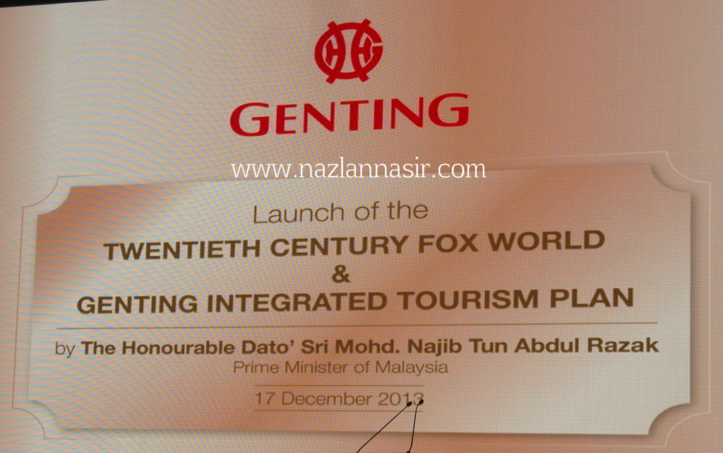Genting Integrated Tourism Plan