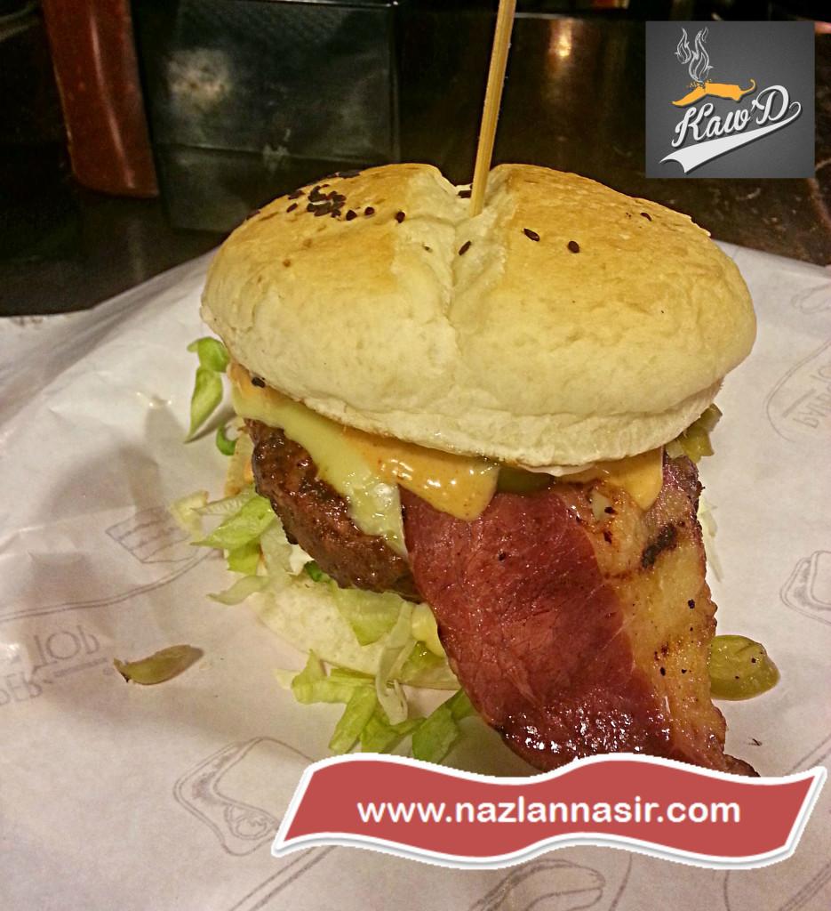 Baconizer Beef Burger Kaw'D