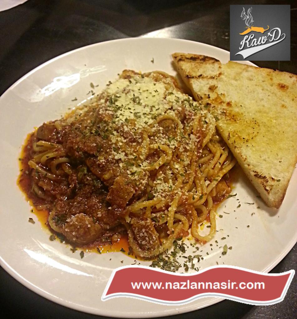 Kaw'D Spicy Marinara Spaghetti