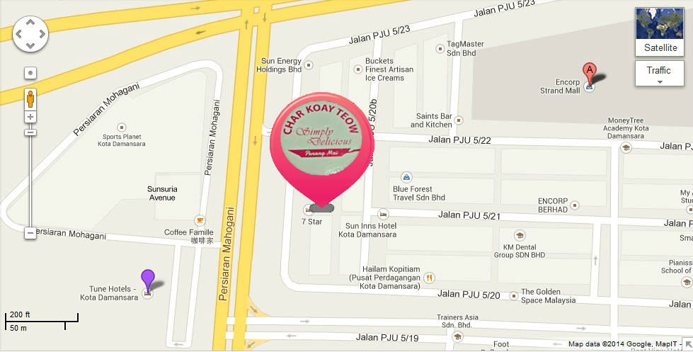 Kota Damansara Map