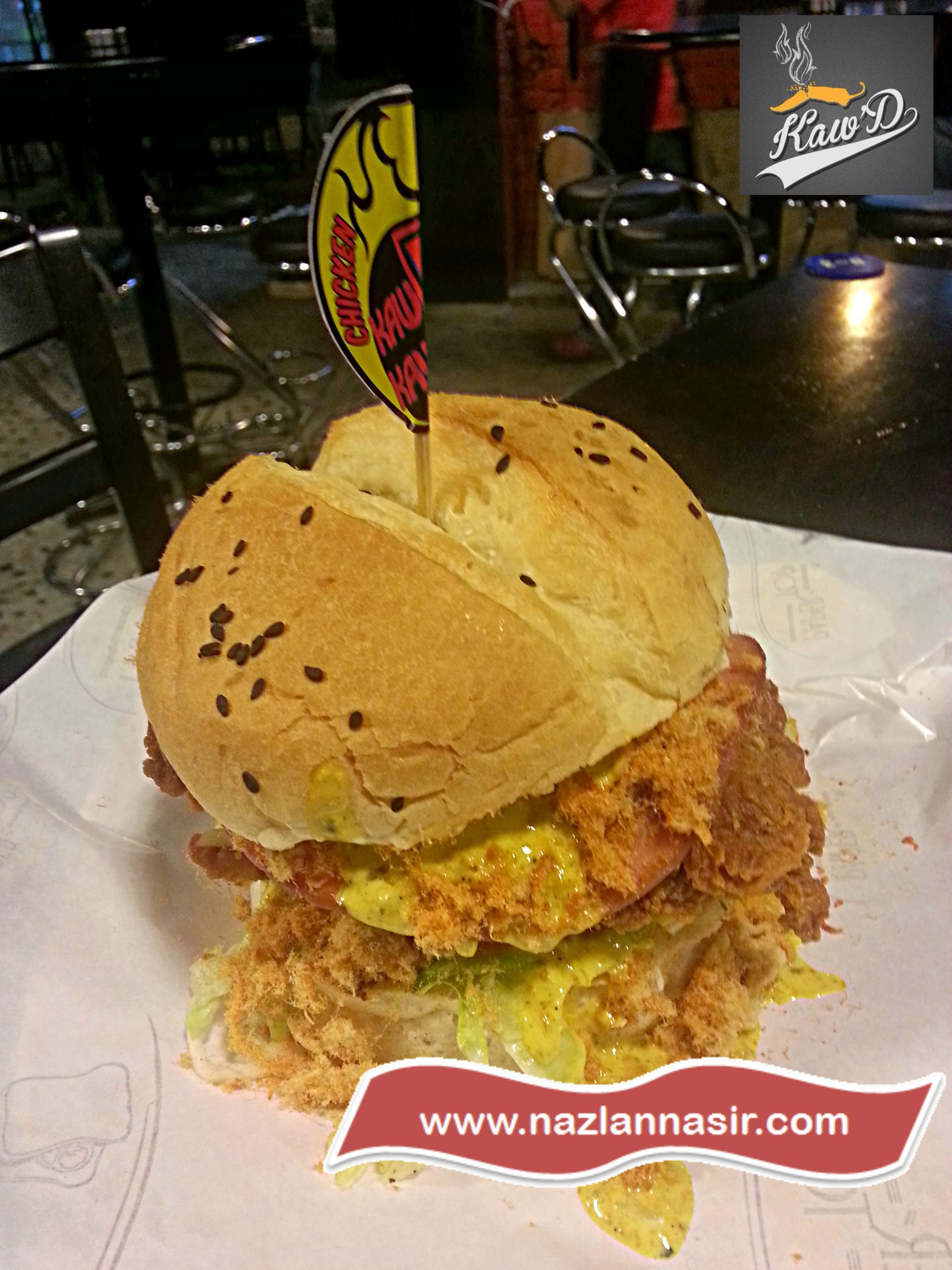 Permaisuri Crispy Chicken Burger Kaw'D