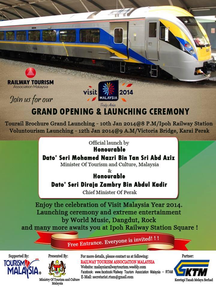 Railway Tourism Ke Perak