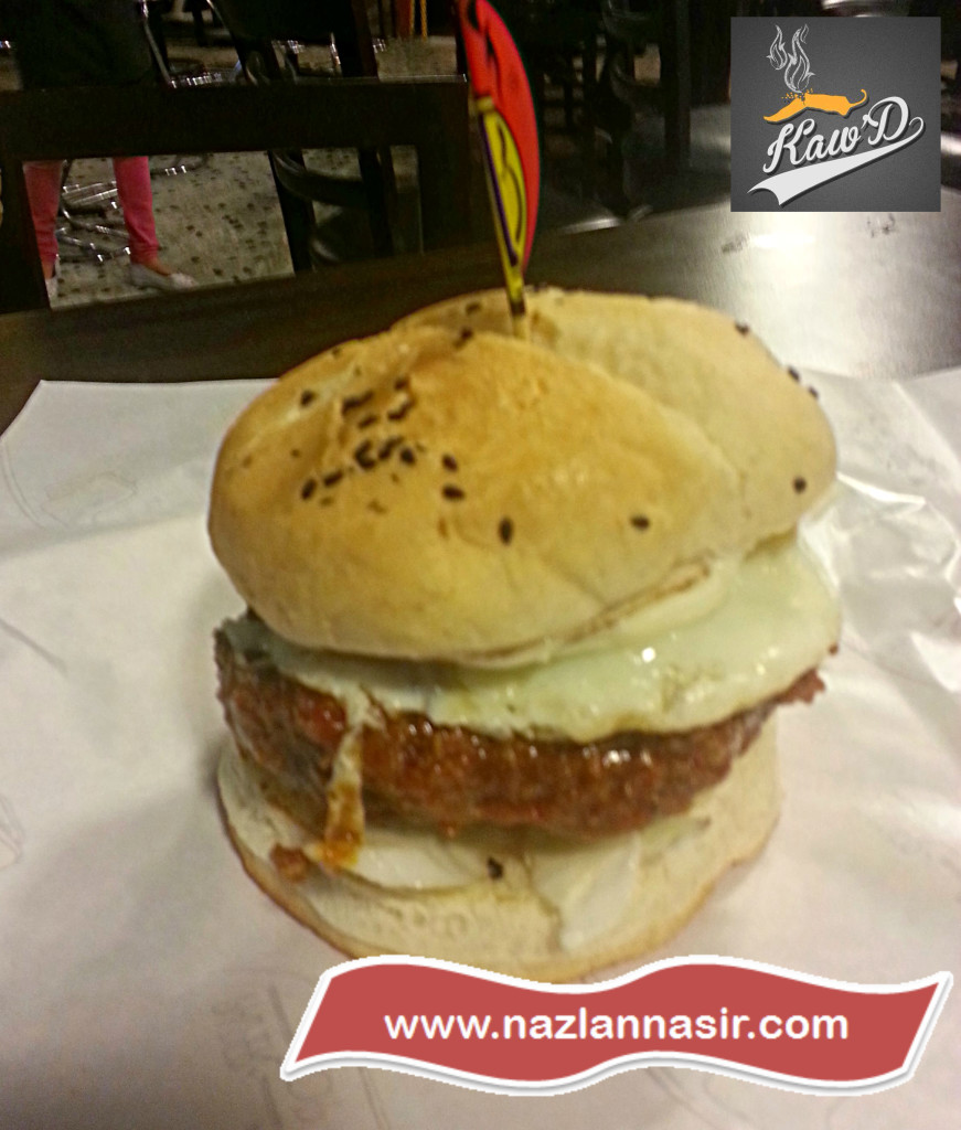 Texas Chili Beef Burger Kaw'D
