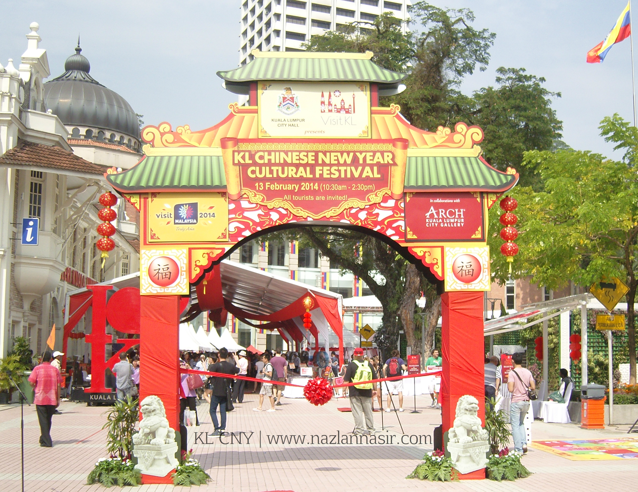 Welcome To KL Chinese New Year Cultural Festival