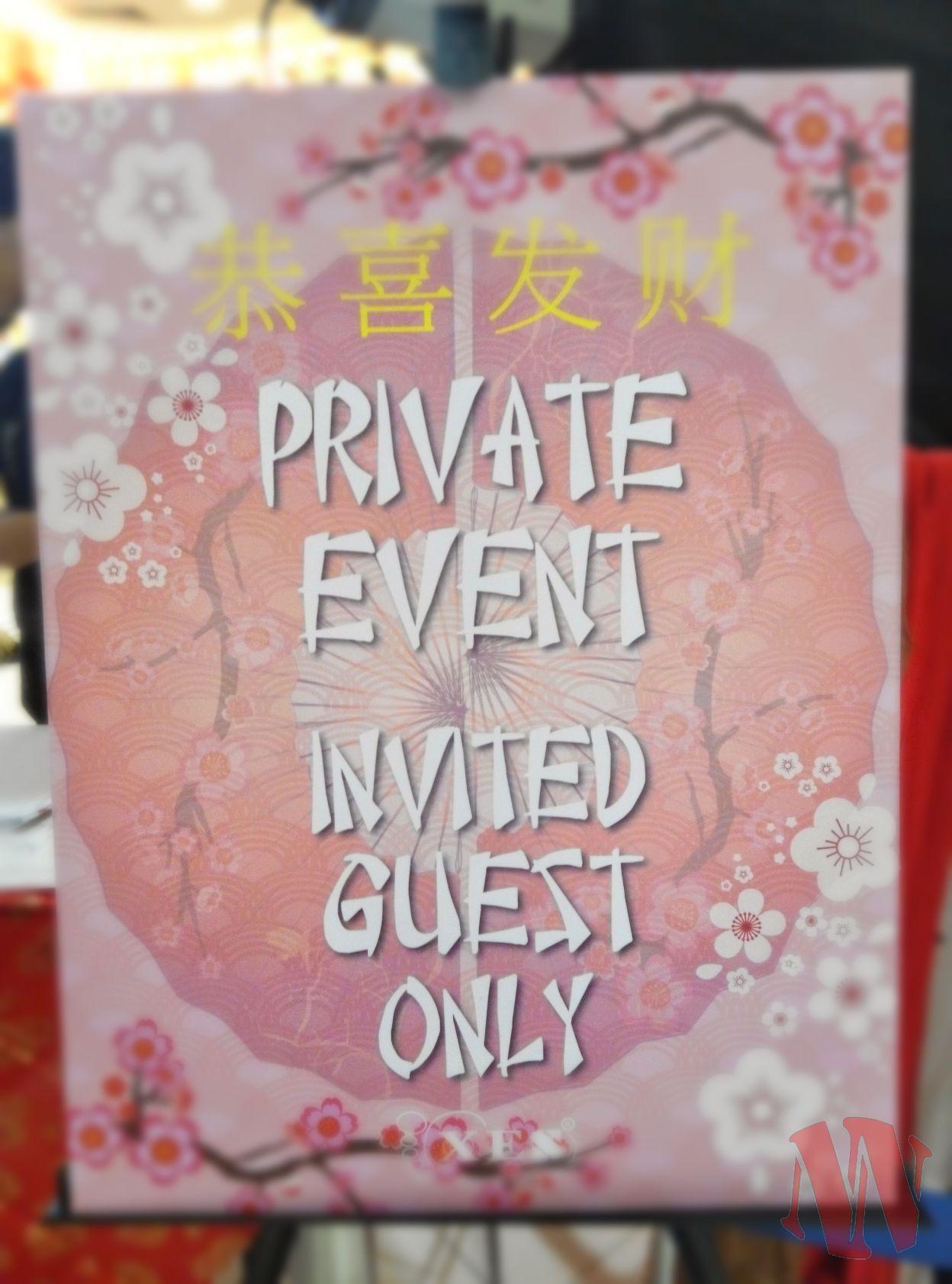 XES Private Event