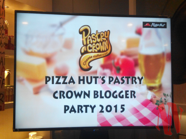Pizza Hut Pastry Crown Blogger Party 2015