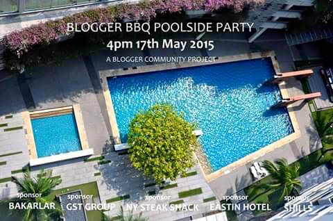 Blogger BBQ Poolside Party Promo