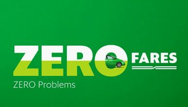 Grab Promo - Zero Fare Zero Problems!