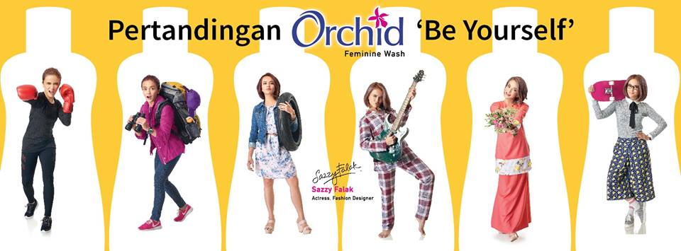 Pertandingan Orchid Be Yourself