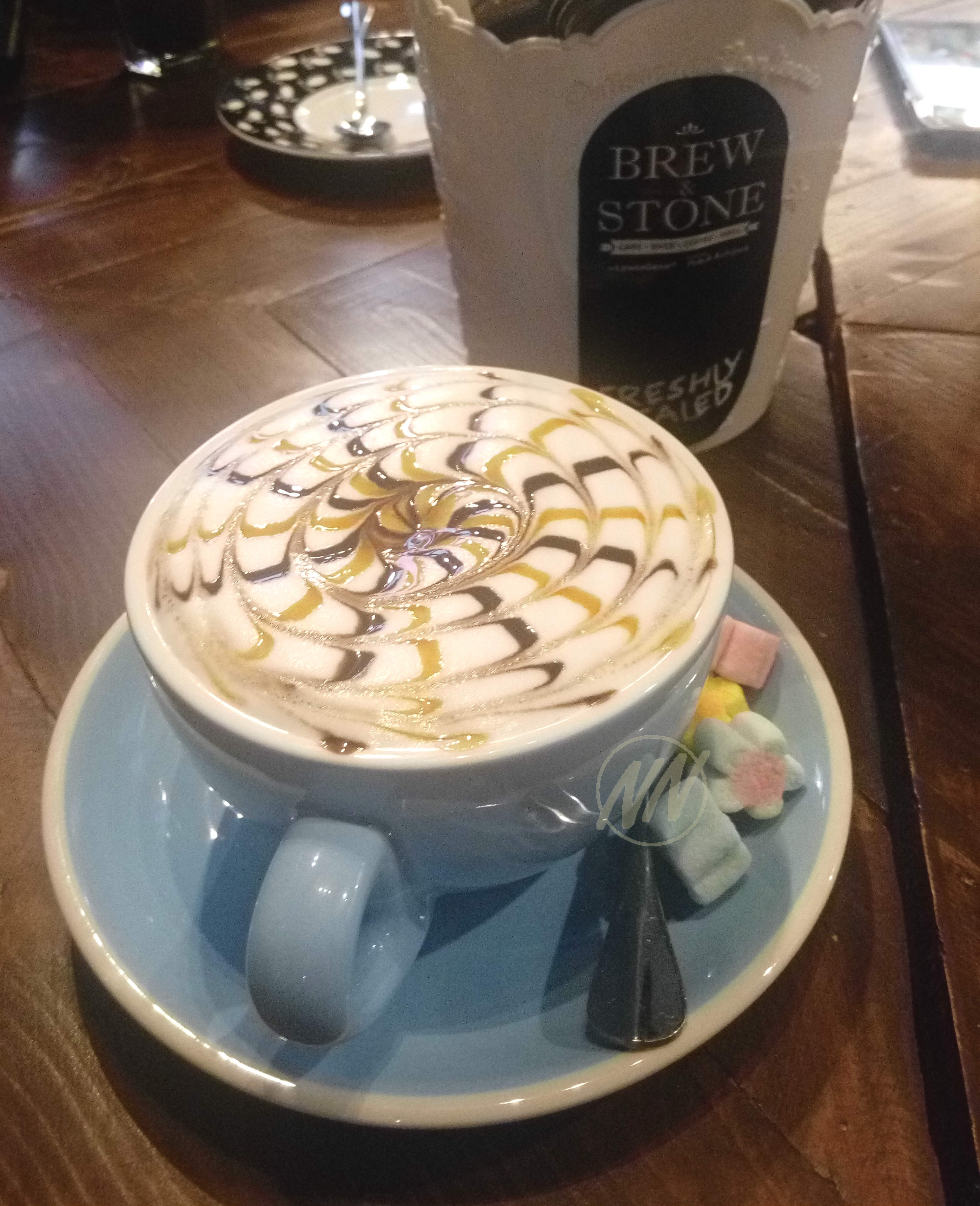 Cafe Mocha with Marshmallow - RM14.90