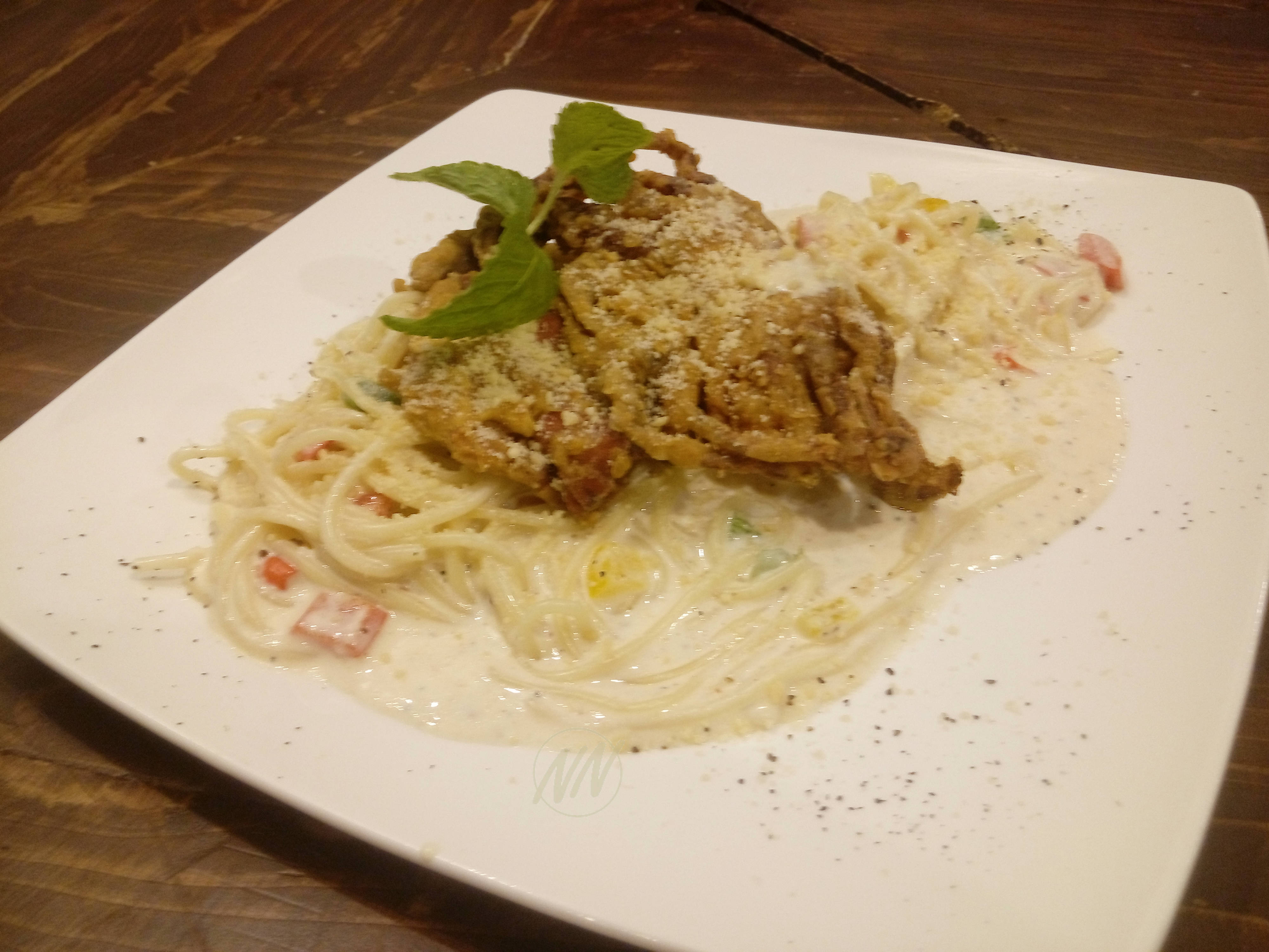 Spicy Creamy Pasta Soft Shell Crab - RM28.90