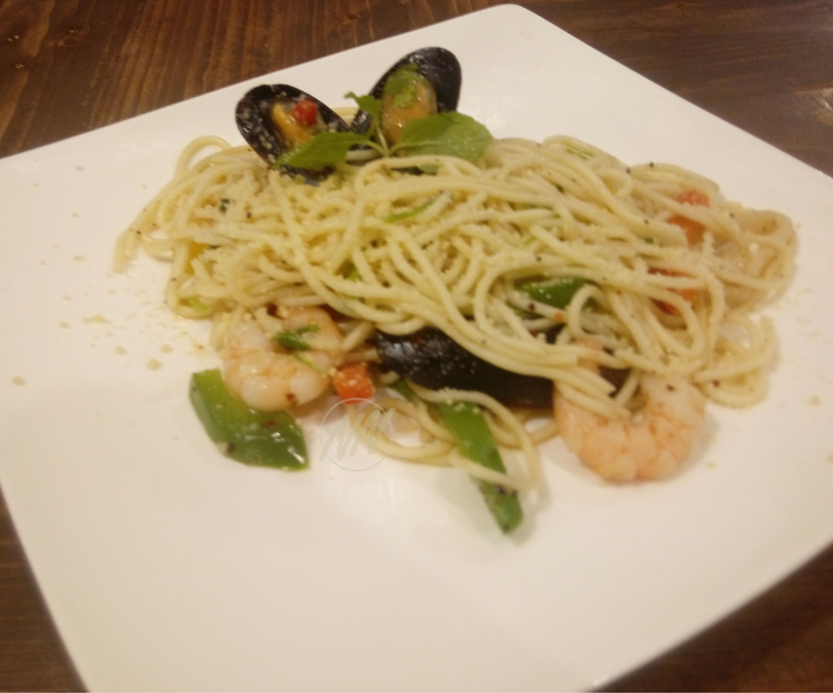 Spicy Seafood Medley Olio - RM19.90