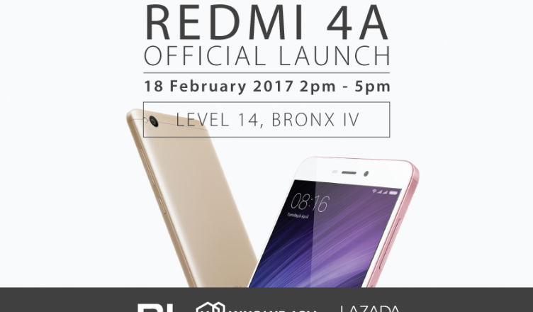 Redmi 4A Official Launch