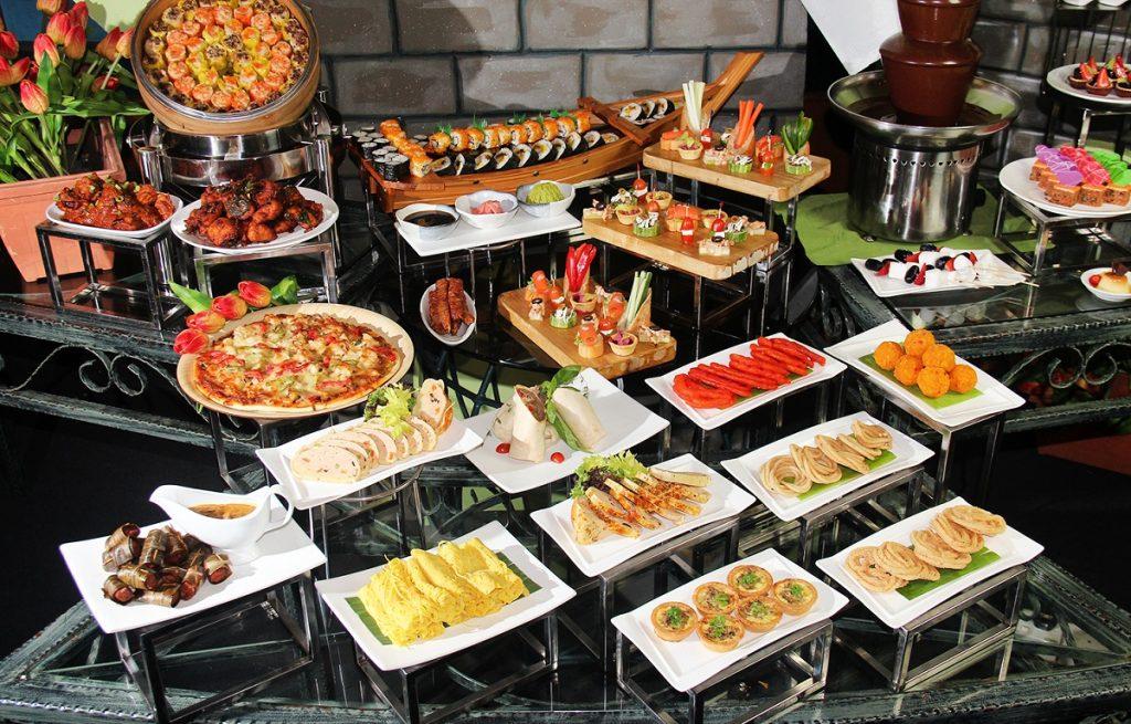 Antara hidangan Jamuan Hi-Tea Hari Ibu