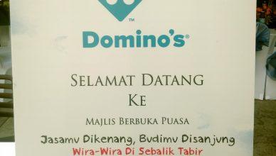Majlis Berbuka Puasa Domino's