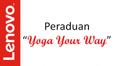 Peraduan Yoga Your Way Lenovo