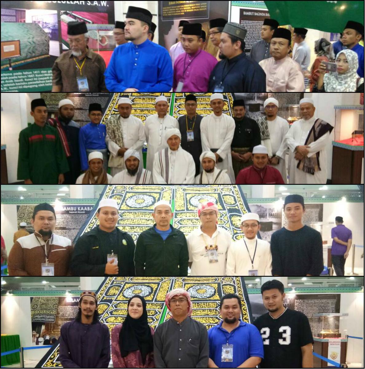 Antara yang hadir ke Pameran Artifak Rasulullah S.A.W.