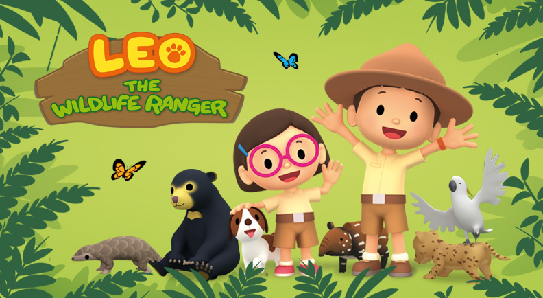 Leo the Wildanger Ranger di ZooMoo