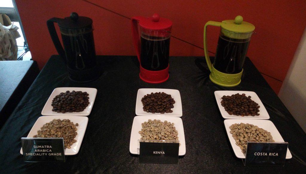 Jenis-jenis biji kopi yang digunakan