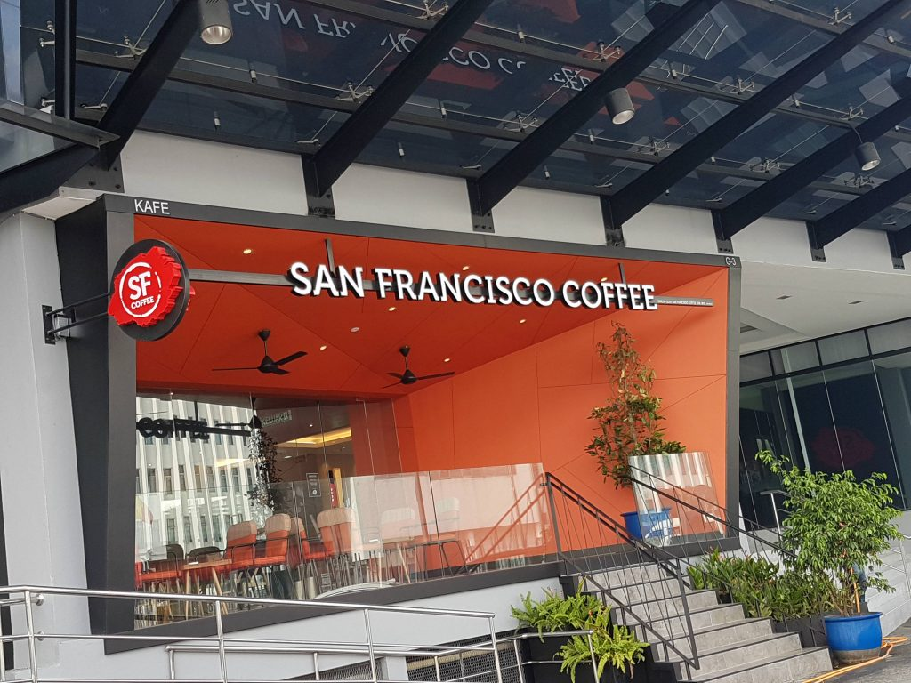 SF Coffee at The Envictus