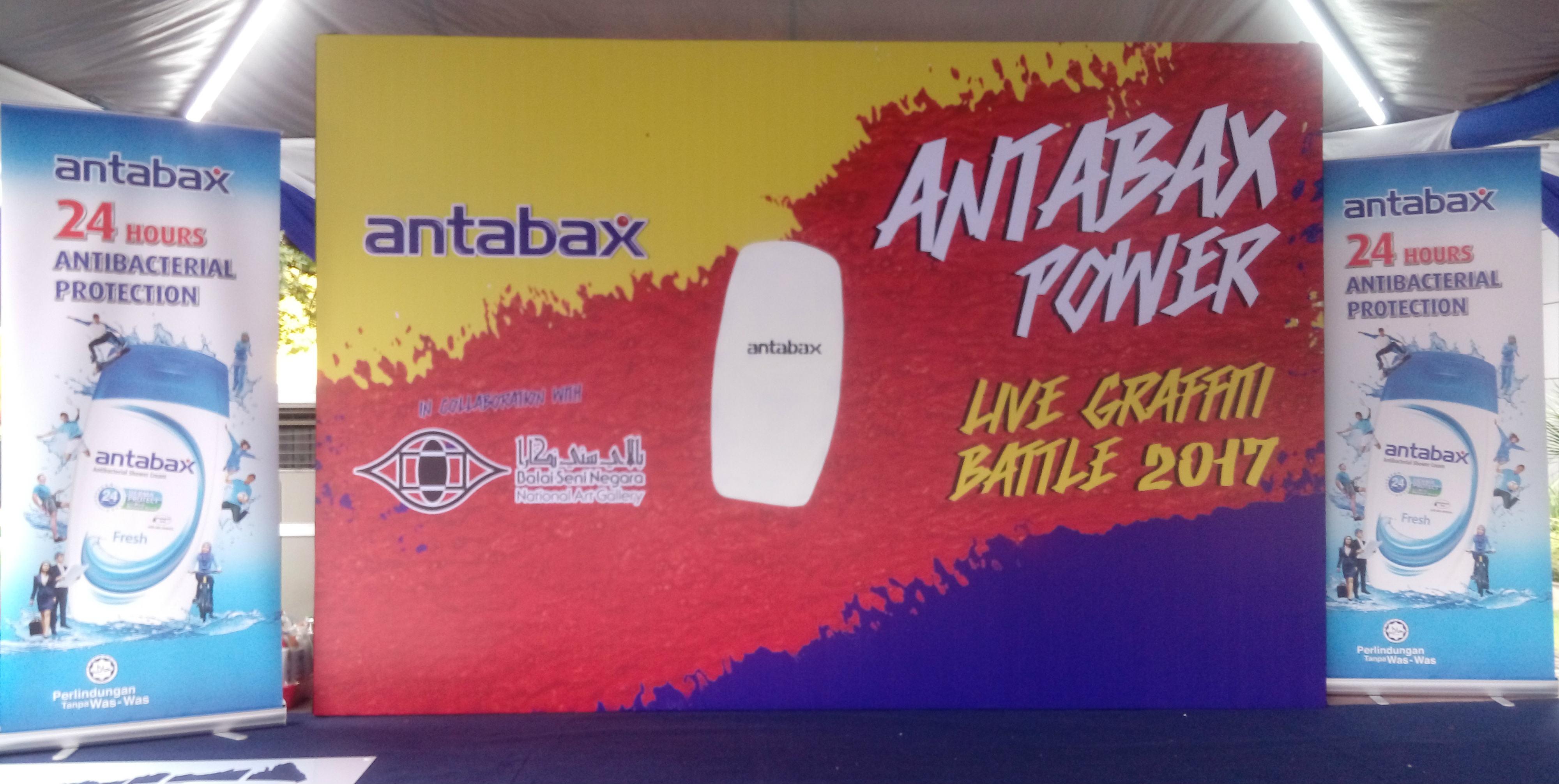 14 Finalis berentap merebut gelaran Juara Antabax Power Graffiti Battle 2017
