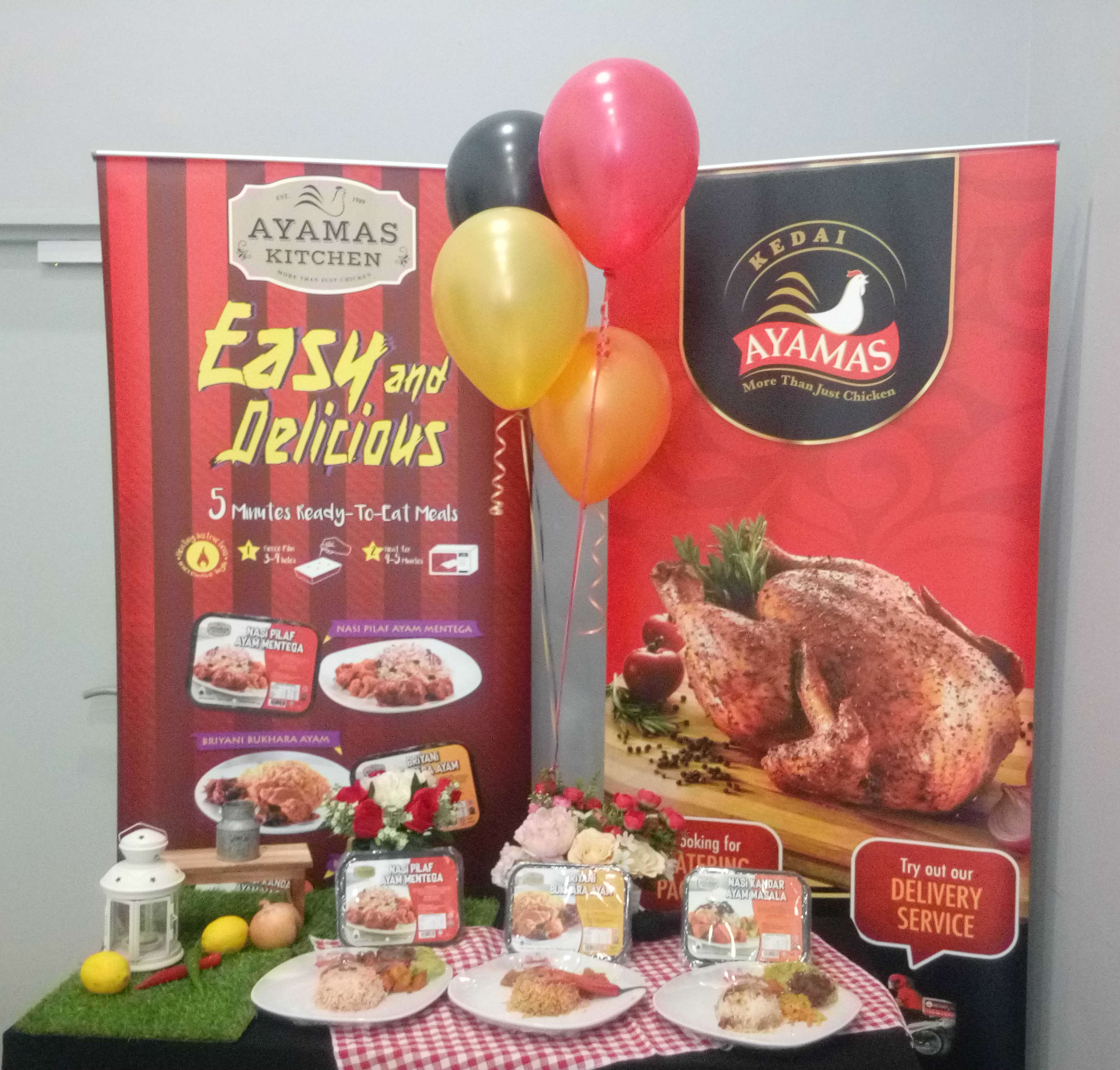 Ayamas Kitchen Bloggers Party