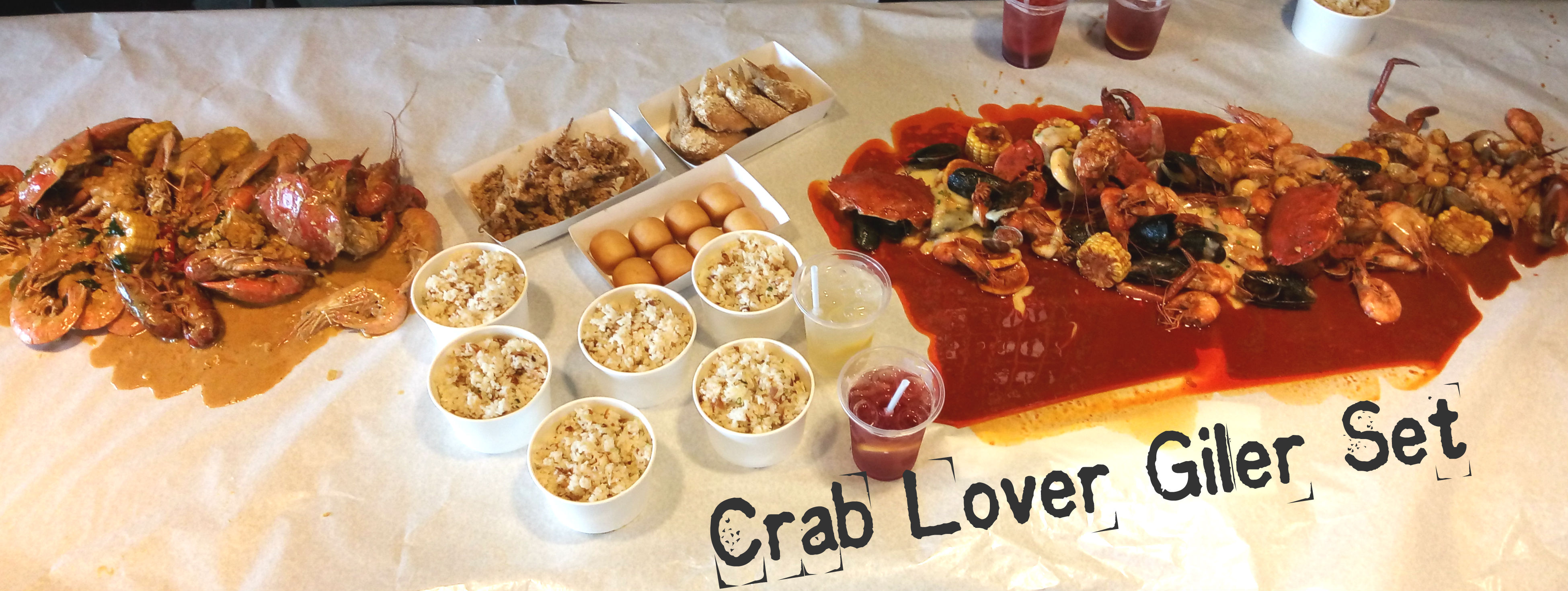 Crab Lover Giler Set