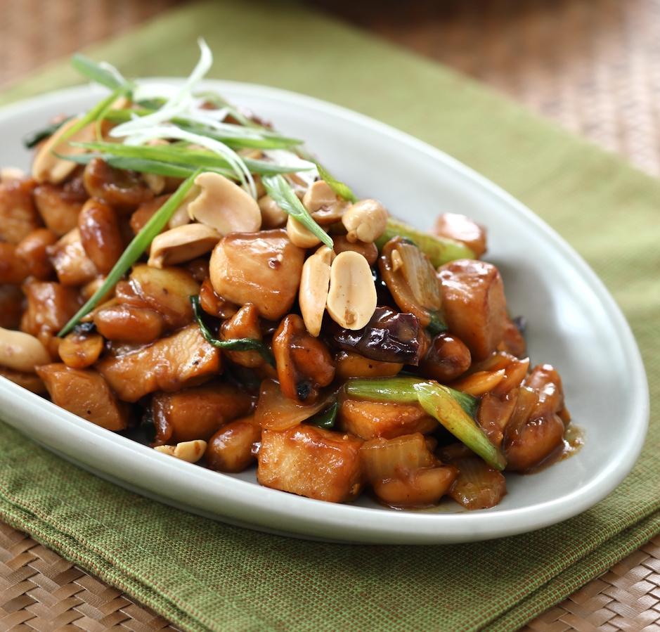 Ayam 'Kung Pao' Kimball