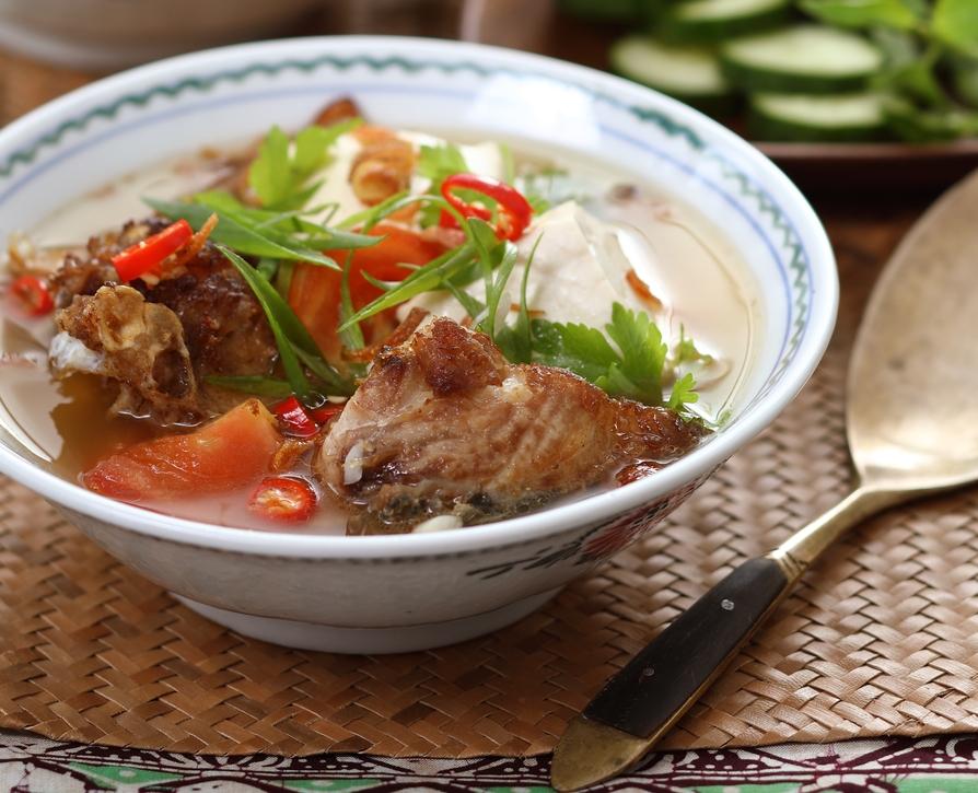 Sup Kepala Ikan Kimball & Tauhu