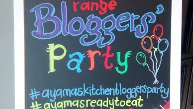 RTE Ayamas Kitchen Bloggers Party