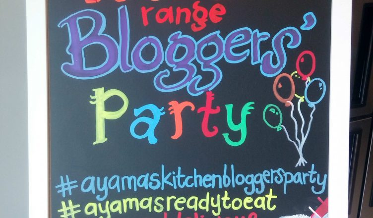 RTE Ayamas Kitchen Bloggers Party