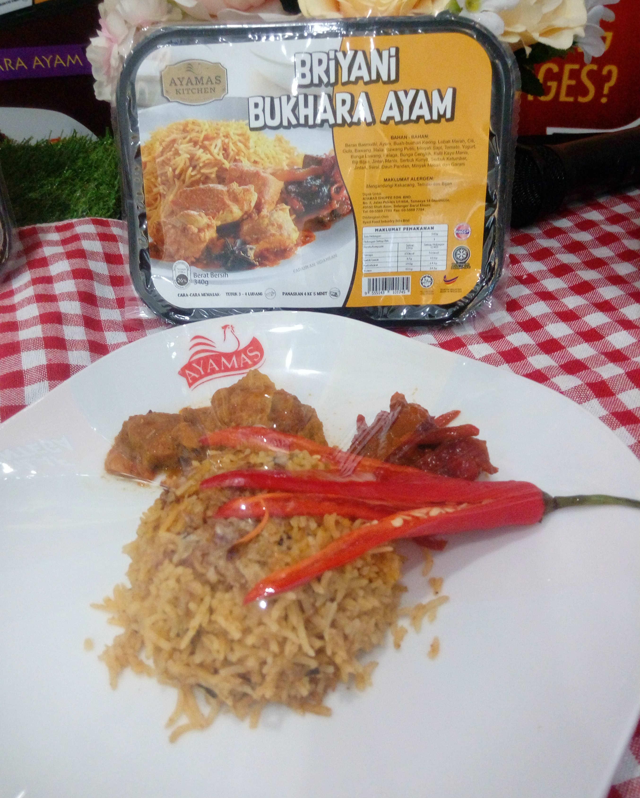 RTE Briyani Bukhara Ayam
