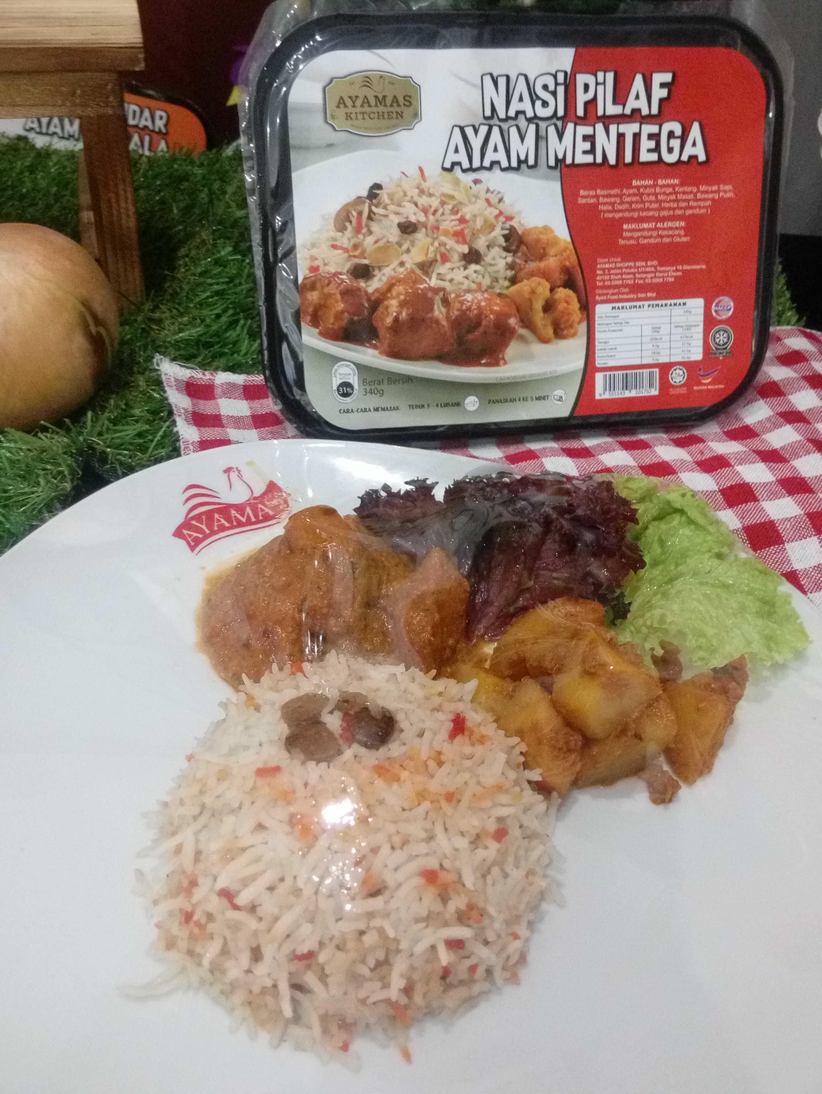 RTE Nasi Pilaf Ayam Mentega