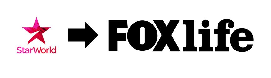 Starworld rebrand FOX life
