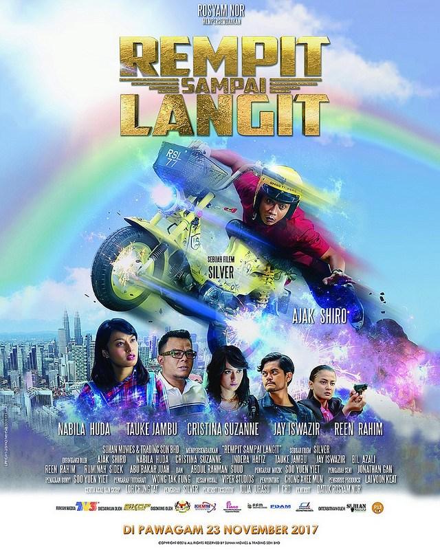 Rempit Sampai Langit Poster