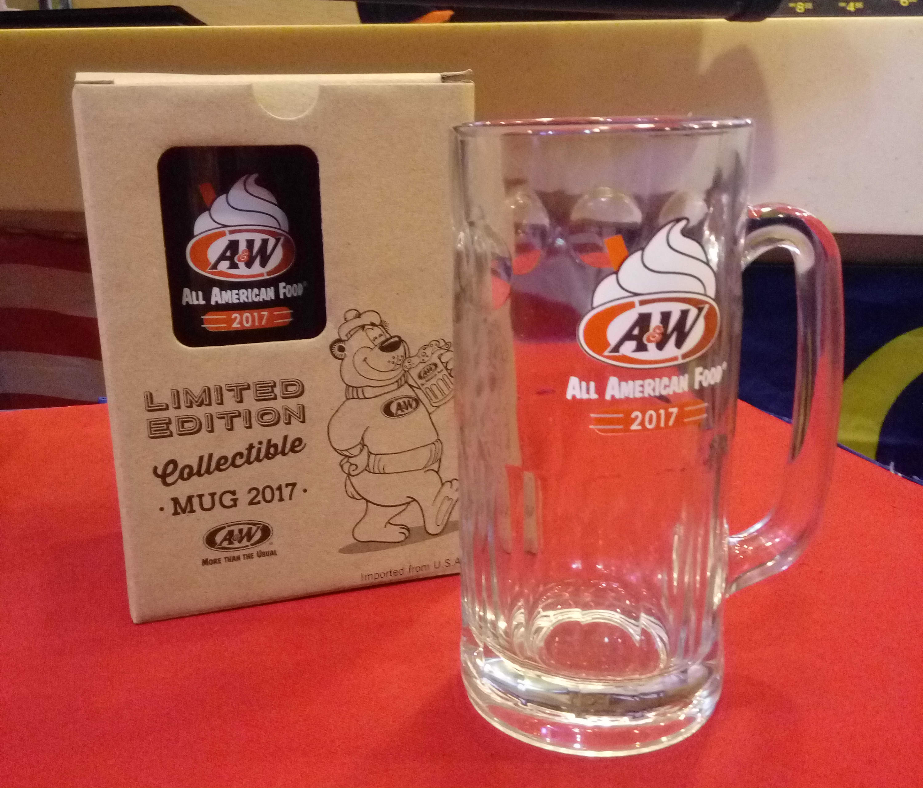 A&W Limited Edition 2017 Collectible Mug