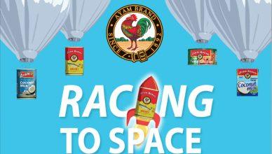 Ayam Brand Racing To Space