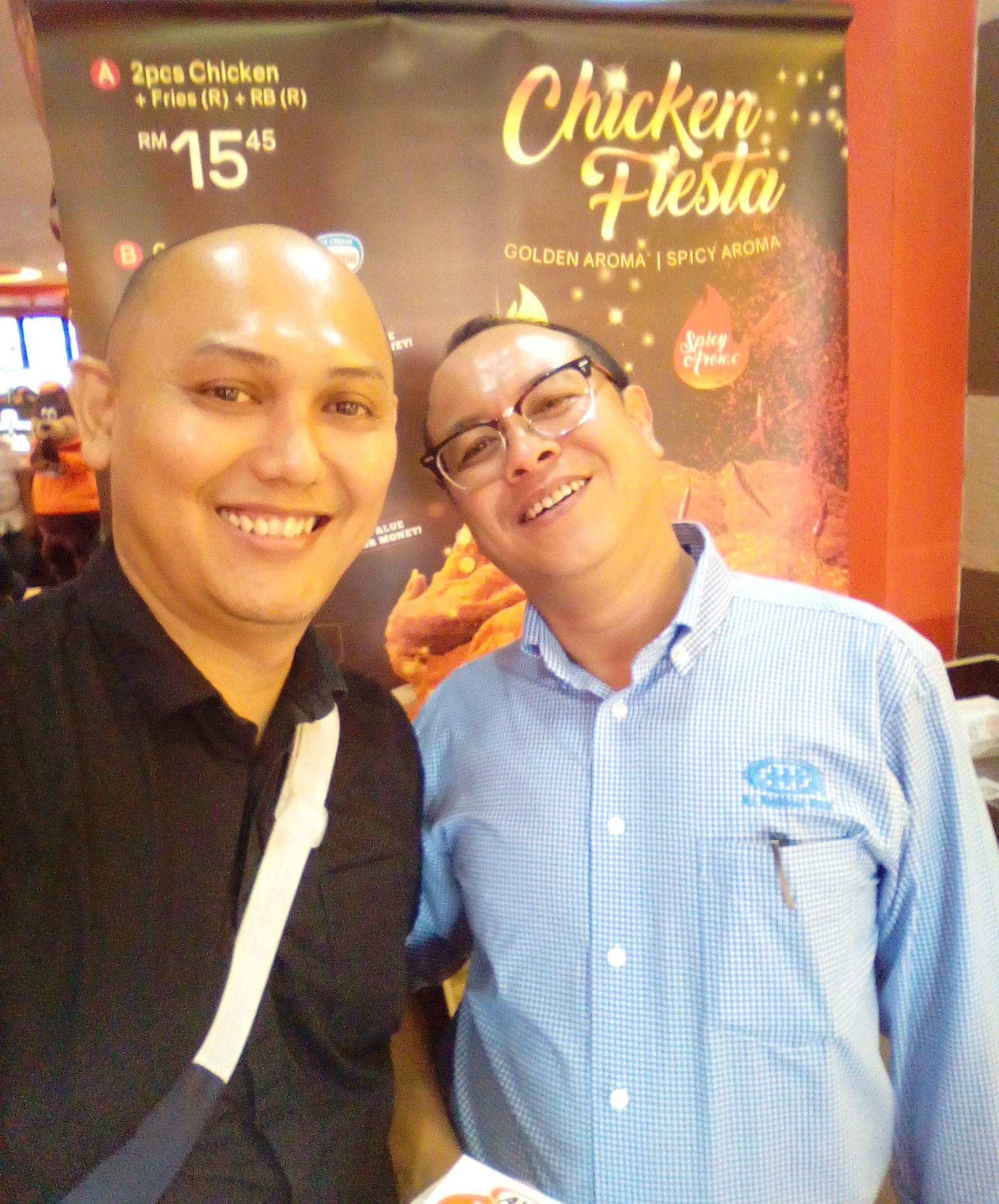 Bersama En. Samad, CEO A&W Malaysia