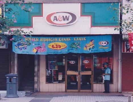 A&W Batu Road Jalan Tunku Abdul Rahman