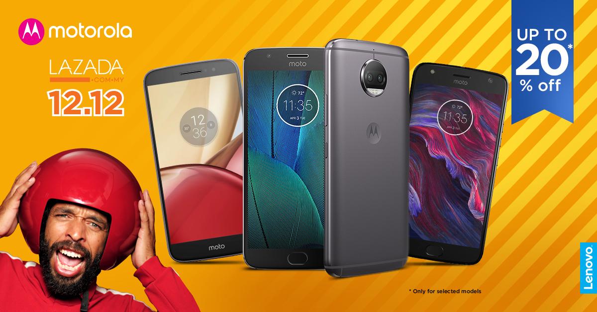 Motorola Lazada 12.12 Revolusi Online