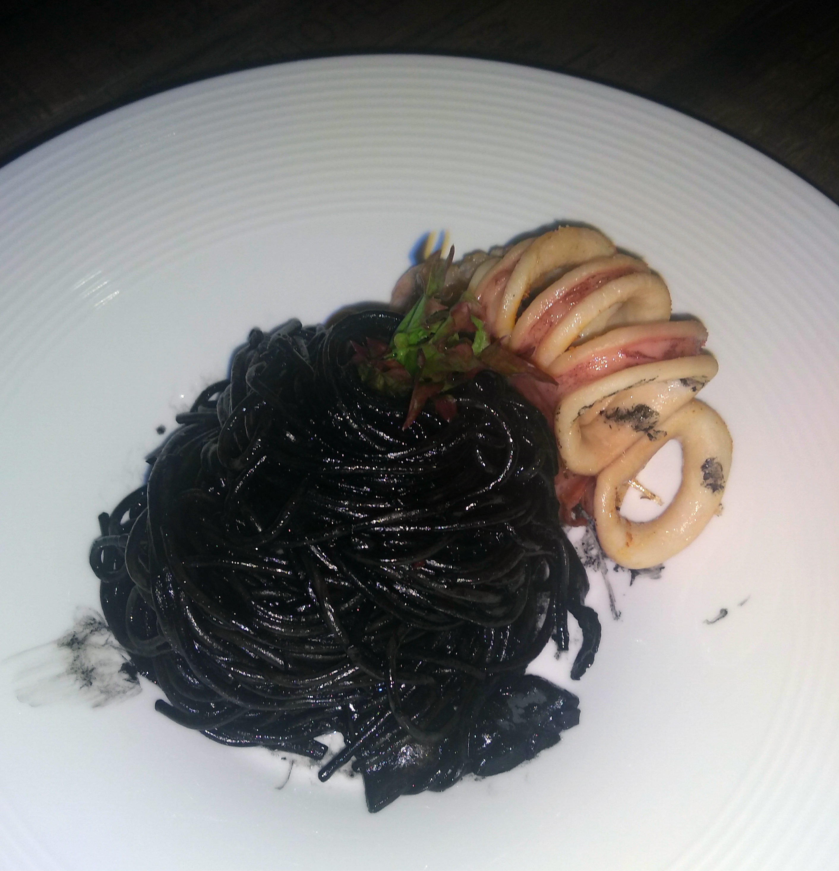 Squid Ink Cuttlefish Spaghetti