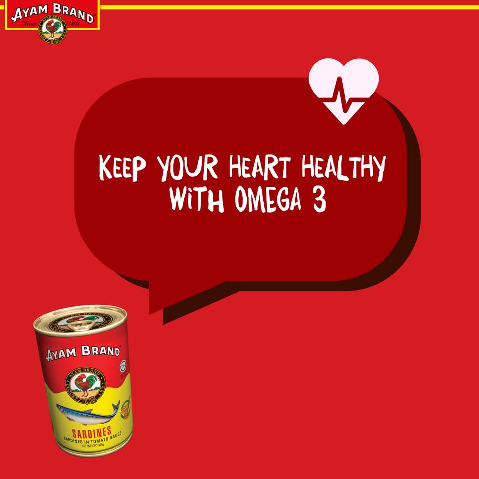 Nutrisi Omega 3 baik untuk jantung