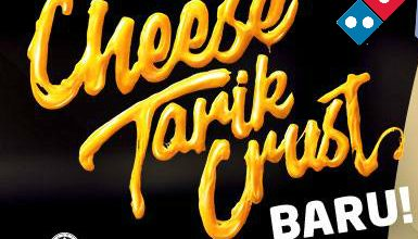 Cheese Tarik Crust Baru banner
