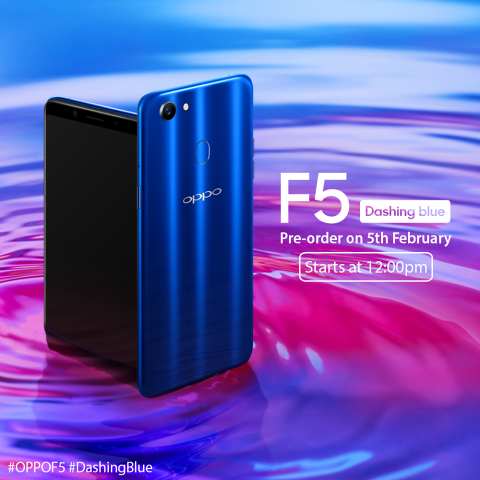 Pre Order Now F5 Dashing Blue