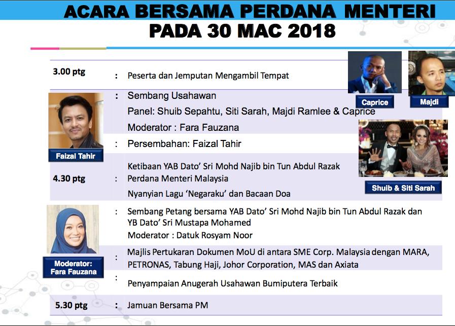 Acara Perdana Himpunan Usahawan Bumiputera 2018
