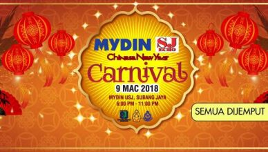 Mydin & SJ Echo Chinese New Year Carnival 2018