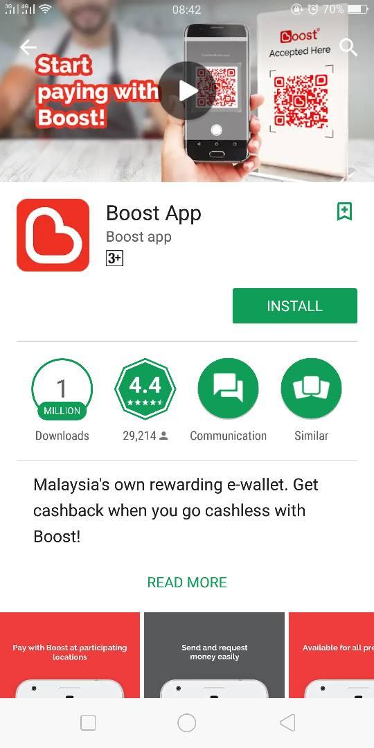 Aplikasi Boost