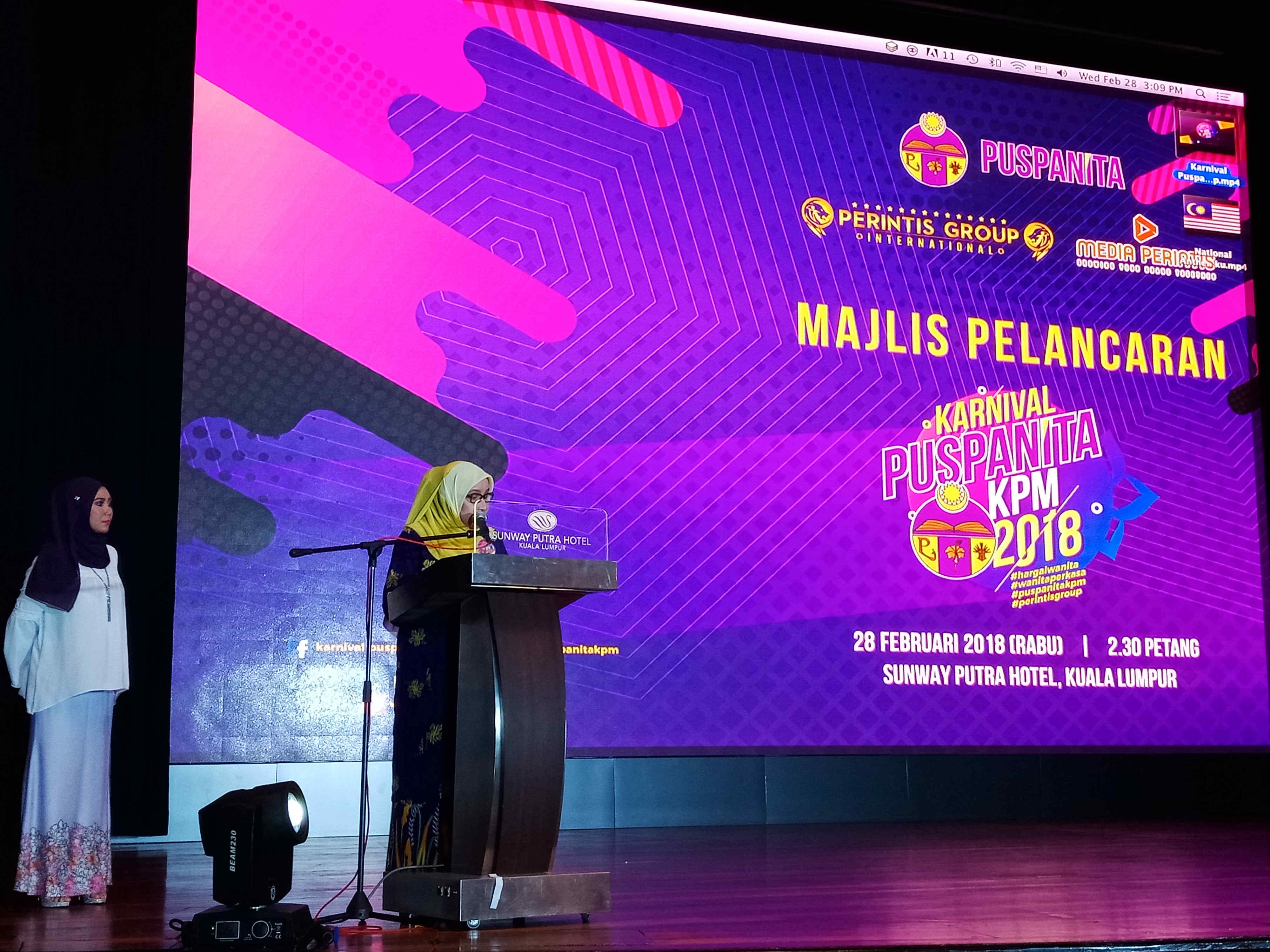 Majlis Pelancaran Karnival PUSPANITA KPM 2018
