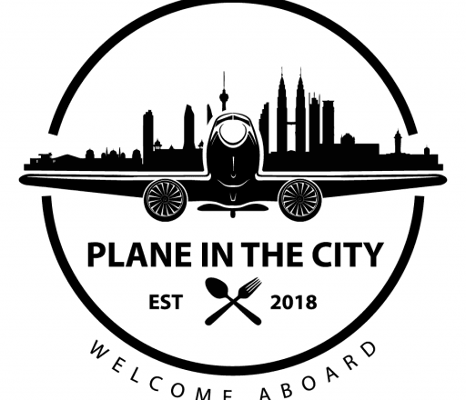 logo Plane In The City